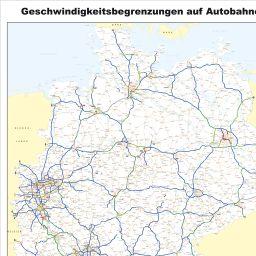 Geschwindigkeitsbegrenzung Autobahn Deutschland Karte.Deutschlandatlas Deutschlandatlas Maporado Com
